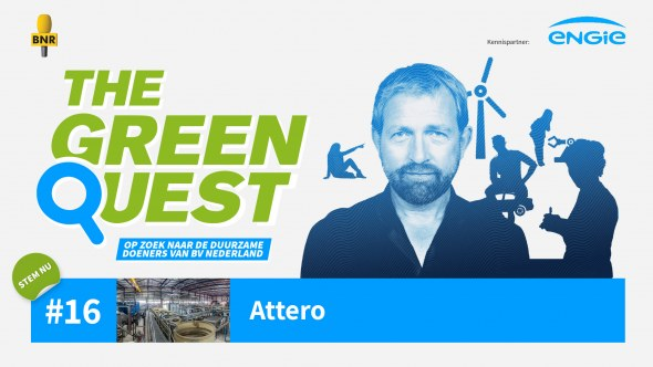 Attero genomineerd voor The Green Quest Award