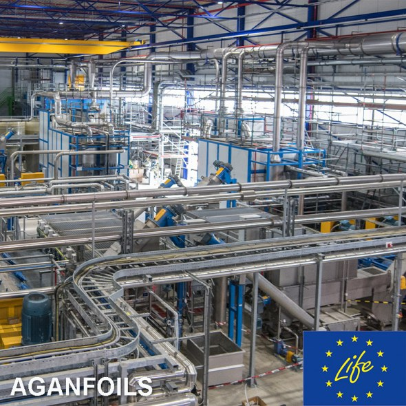 Polymeren Recycling Plant LIFE Aganfoils