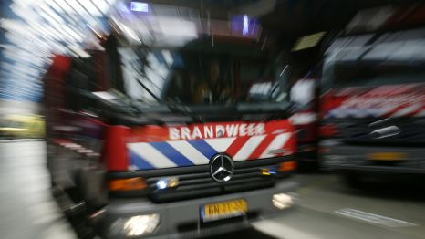 Brand in opslaghal