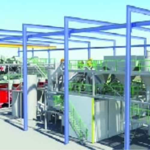 Bouw Polymeren Recycling Plant van start