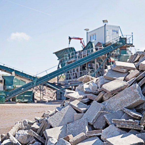 Your mineral waste is converted into raw materials