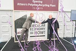 Officiële opening van Attero's Polymeren Recycling Plant door Frans Timmermans