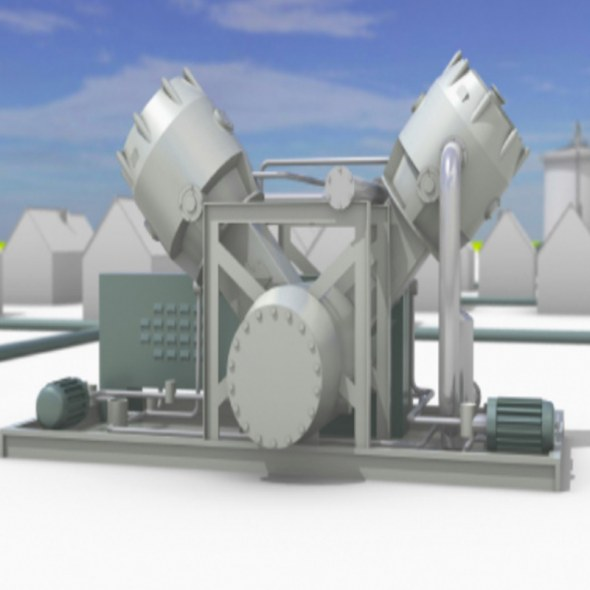 Green-gas booster